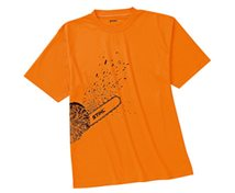 T-SHIRT DYNAMIC ORANGE  STL.S